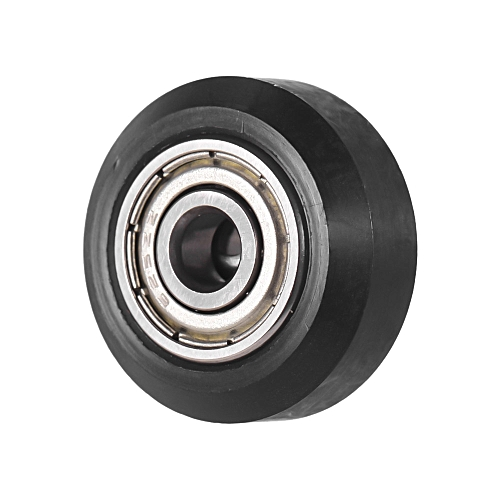 Creality 3D Printer Plastic Pulley Passive Round Wheel Roller with Bearing  Idler Pulley Gear Perlin Wheel for CR-10 Series Ender-3, 1pcs