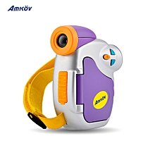 "Amkov DV-C7 1080P Children Kid Digital Video Camera 1.44"" Colorful Display Multiple Languages Christmas Gift"