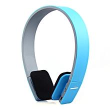 AEC BQ618 Smart Bluetooth 4.0 Headphone Wireless Earphone Headset with MIC-BLUE