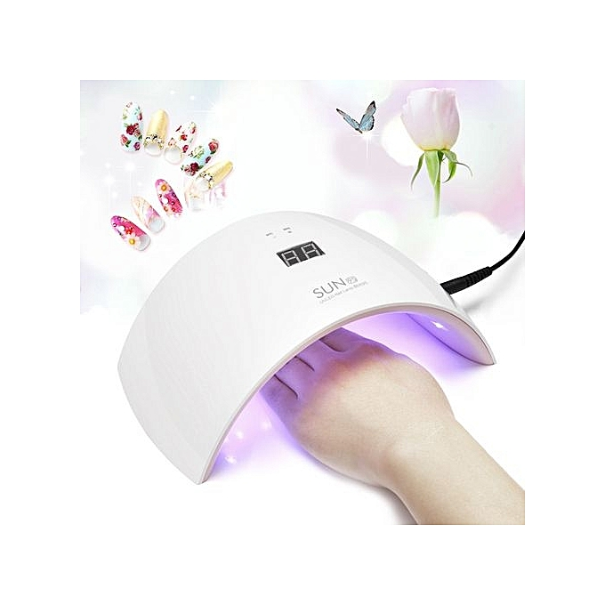 Buy UNIVERSAL UV LED Nail Dryer 24W Professional UV LED Lamp ...