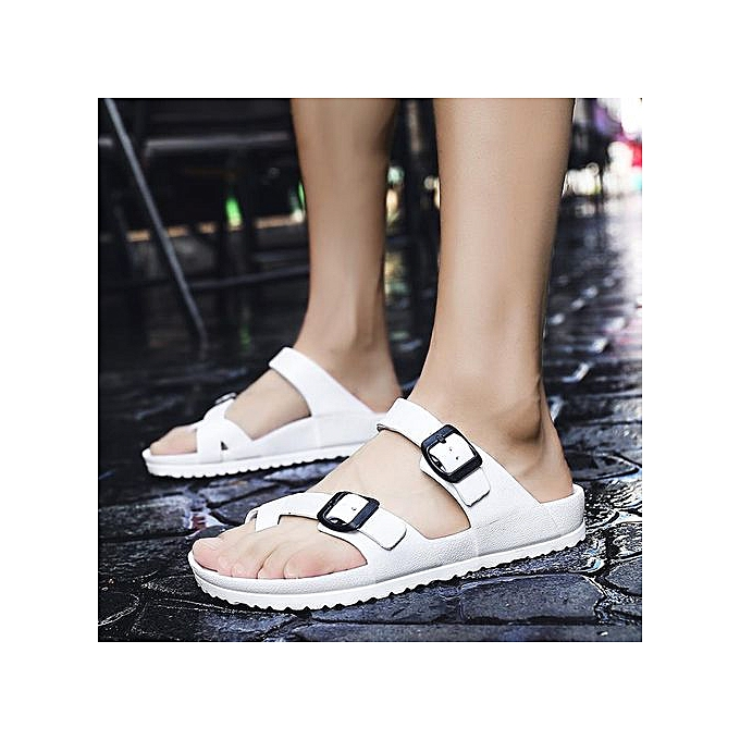 a49a6acf7ce0 Men s Flip-Flop Thong Sandals With Arch Support Light Weight Beach Slippers