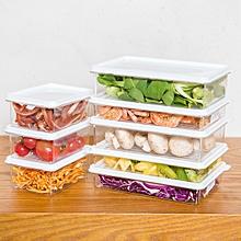 KCASA KC-SB06 Stackable Refrigerator Fridge Freezer Storage Box Stack Food Container Tray Organizer M