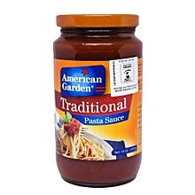 Pasta Sauce - Traditional Pasta Sauce - 397g