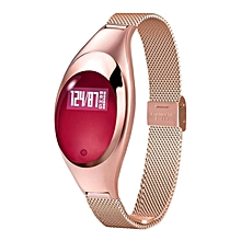 HonTai Women Fashion Smart Watch Z18 Bracelet With Intelligents Blood Pressure Heart Rate Monitor Pedometer Fitness Tracker For Android IOS Smart Phones