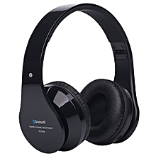 BT-809 Wireless Stereo Bluetooth Sport Headphone with Mic-Black