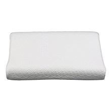 Natural Latex Pillow Rectangle-shaped Neck Pillow Health Care Neck Protection