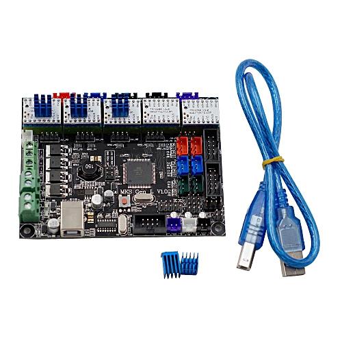 3D Printer Accessories MKS GEN L V1 0 Control Panel +TMC2208 *5 Stepper  Motor Driver