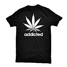 Black Addicated T-shirt