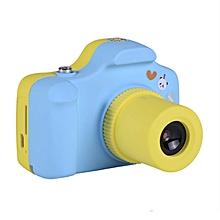 5.0MP Kids Children Digital Camera 1.5 inch LCD Screen Cute Design Mini Blue