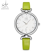 Luxury Watches Ladies Quartz Wrist Women Leather Brand