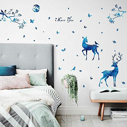 Buy Generic Miico 3d Creative Pvc Wall Stickers Home Decor Mural Art