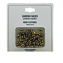 Earring Stoppers- Gold