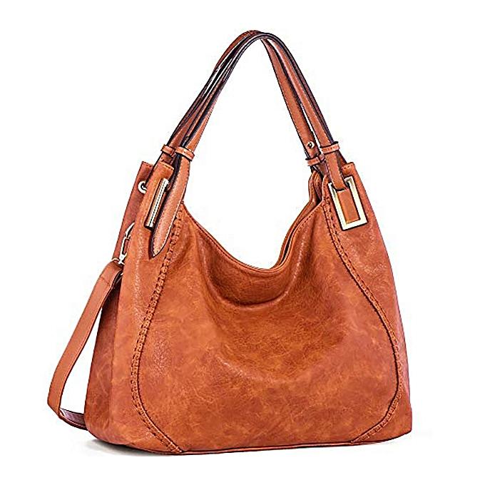 8e531c8818a8 Brenice Women Fashion Handbag PU Leather Tote Bag Shoulder Crossbody Bag