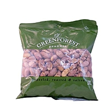 Unpeeled, Roasted and Salted Peanuts, 200g