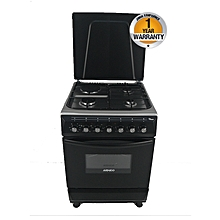 GC-F6631FX(BK) - 3 Gas-1 Electric Cooker - Black