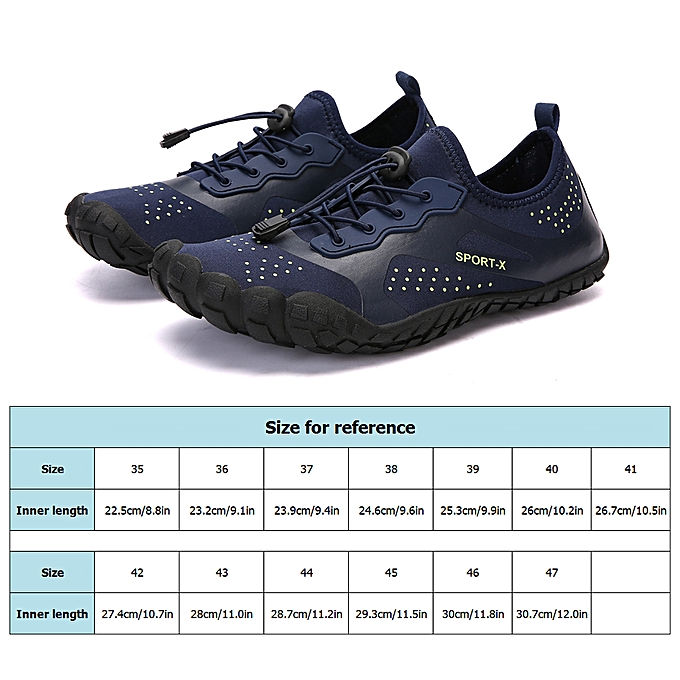 4a29824156 ... Super Lightweight Aqua Shoes Breathable Beach Shoes Diving Surfing  Drifting River Trekking Anti-skid Shoes ...