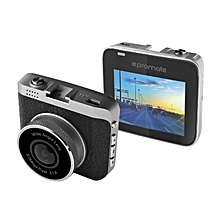 Dash-Cam2: Grey Dashboard Camera 360 Degree Rotatable,with Motion Detection,Sensor,Car Mount and Micro SD Card Slot