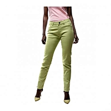 Citrus Green Skinny Fit Women's Pants