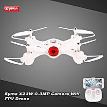 X23W 0.3MP Camera Wifi FPV Drone Headless Mode Altitude Hold G-sensor Quadcopter
