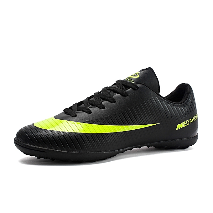 buy online a63f5 d93f0 Professional Men Turf Indoor Soccer Shoes Cleats Kids Futsal Football Boots  Sneakers