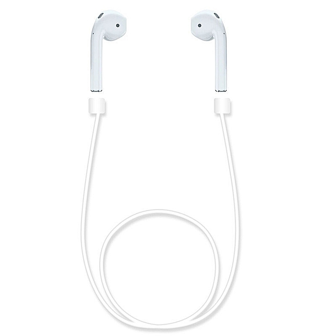 ... Anti Lost Silicone Strap Loop Cable Cord String Rope for Apple Airpods Air Pods ...