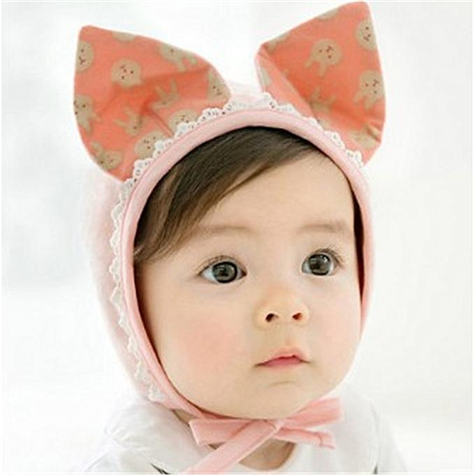 c98488dd8 Cute Rubbit Ears Baby Girl Hat Soft Baby Bonnet Hats Beanie Cap Baby Boys Girls  Newborn