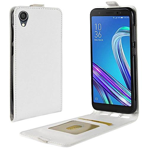 best service 1237f 97a43 PU Leather Flip Cover Case for Asus Zenfone Live L1 ZA550KL