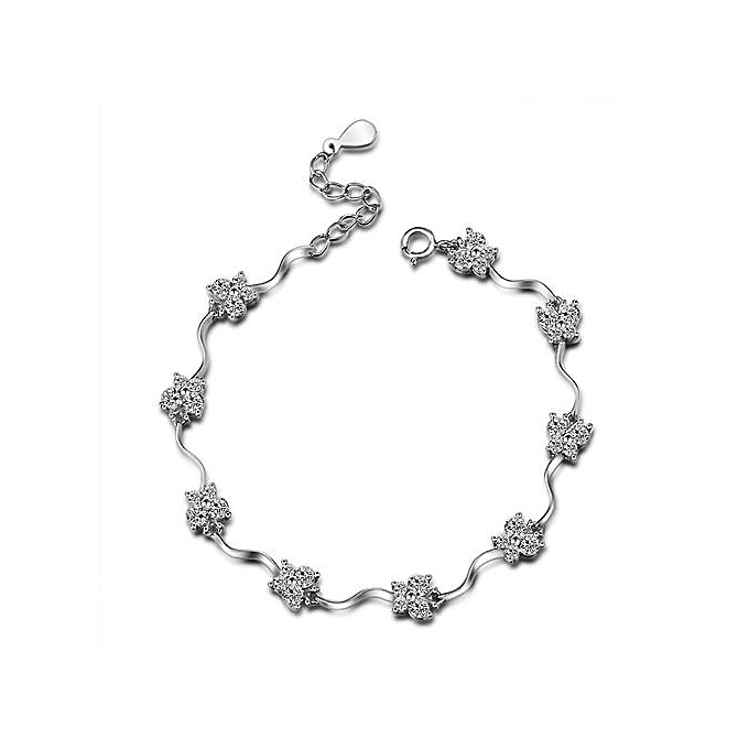 Buy Silverbene Small Butterfly Cubic Zirconia 925 Sterling Silver