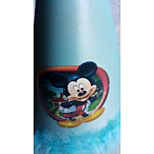 Blue Feathered Party Hat - Mickey Mouse