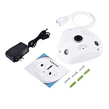 HP White 3D VR Camera 360 Degree Panoramic IP 960P 1.3MP FIsheye WIreless
