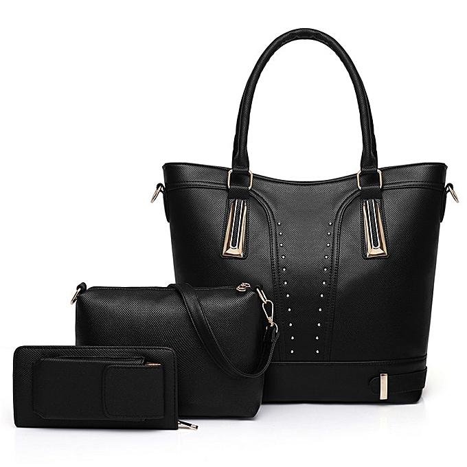 83739d11240 Buy Generic 3 in 1 fashionable women handbag   Best Price   Jumia Kenya