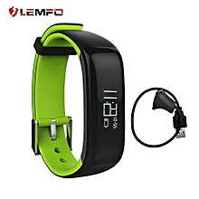 LEMFO P1 Bluetooth 4.0 Real-time Heart Rate Health Monitoring Wristband Waterproof Call Reminder Smart Watch Smart Bracelet