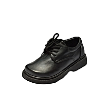 Black Unisex School Shoes