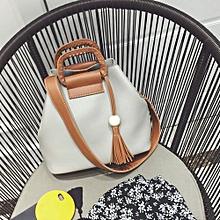 bluerdream-Fashion Ladies Shoulder Bag Handbag Tassel Messenger Hobo Crossbody Bag Tote GU-Gray