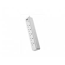 PM5-UK Essential SurgeArrest 5 outlets 230V UK - White