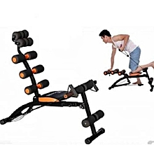 Six Pack Care ABS Workout - Exercise Bench Sit Up Gym Fitness Machine Slimming - Wonder Core