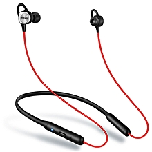 EP52 Magnetic Neckband Stereo Bluetooth Earphone - Love Red