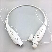 Wireless Bluetooth Headset Sports Bluetooth Earphones Headphone With Mic Bass Earphone For Samsung Iphone White