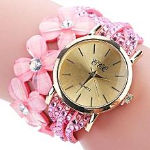 CCQ New Flowers Watch Fashion Casual Women's Bracelets Quartz Dress Watches