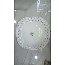 12pcs Dinner Plate Serveware - White