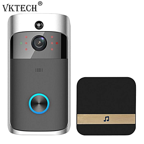 Smart Wireless WIFI Security Doorbell 2 Way Talk 720P Camera Phone Remote  Control Visual Video Door Bell Dingdong