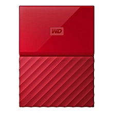 My passport Ultra - 4TB USB 3.0 External Hard Disk – Red