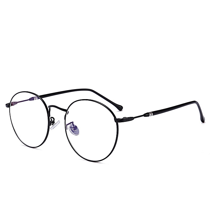 72edfb7fa96d Women Men Casual Round Metal Thin-sided Myopia Frame Optical Reading Glasses  ...