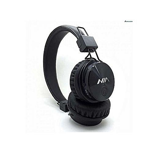 7af2269e1a5 Generic Generic NIA X3 Wireless Bluetooth Headphone @ Best Price ...
