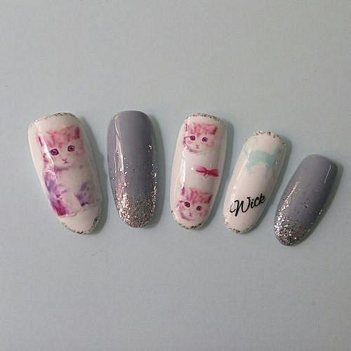 Buy Qibest Bluerdream Fashion Nail Art Stickers Diy Tips Decoration