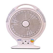 GF951 Rechargeable Fan - Grey .