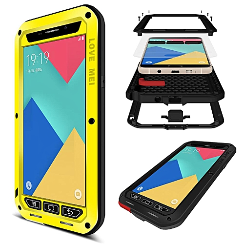 new arrival 981c3 166b1 Galaxy A9 Waterproof Case, Shockproof Snowproof Dustproof Durable Aluminum  Metal Heavy Duty Full-body Protection Case Cover for Samsung Galaxy A9