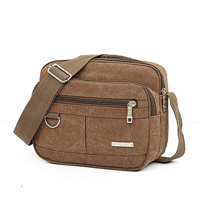 e30bbde461 douajso Men Canvas Bag Casual Travel Men s Crossbody Bag Men Messenger Bags  CO