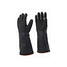2 pairs Industrial rubber gloves Heavy duty