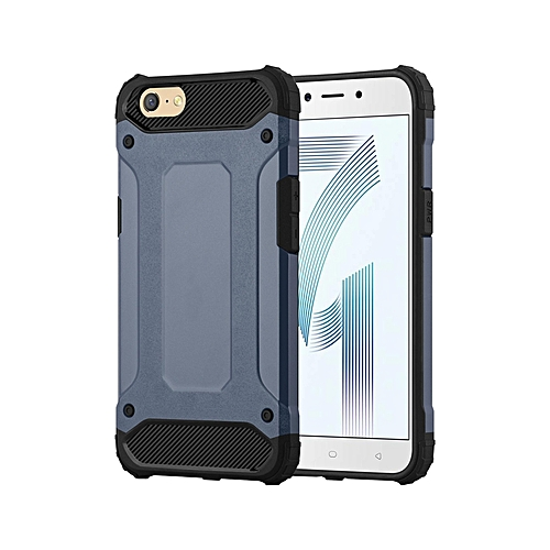 cheap for discount fb82b 2c146 Oppo A71 Armor Back Cover - Light Blue